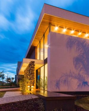 terrasse de nuit - House in Londrina by Spagnuolo Arquitetura