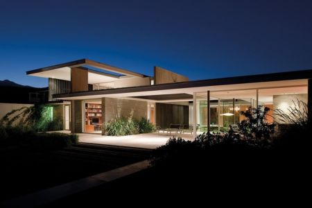 terrasse de nuit - Kübler House par 57STUDIO - Stgo, Chili
