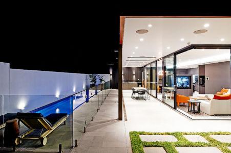 terrasse de nuit - White House par In2 - Melbourne, Australie