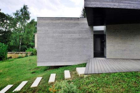 terrasse & entrée - maison exclusive par SKP Architecture - Créteil, France