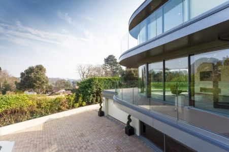 terrasse et balcons terrasse - Ventura House par David James Architectes - Dorset, Royaume-Uni