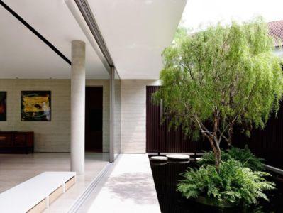 terrasse et bassin - 59BTP House par ONG&ONG - Singapour