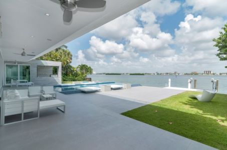 terrasse et panorama - Gross-Flasz Residence par One d+b Miami - Harbor Island, Usa