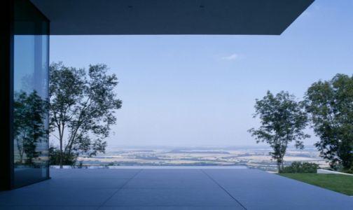 terrasse et panorama - House Philipp par Philipp Architekten - Waldenburg, Allemagne