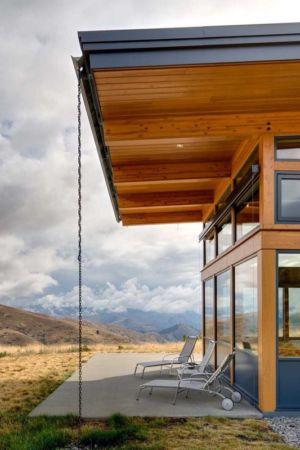 terrasse et panorama - Nahahum Canyon House par Balance Associates - Nahahum Canyon, Usa