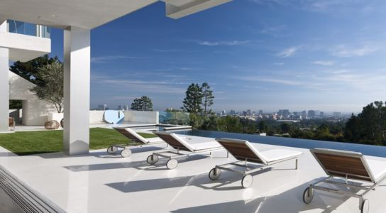 terrasse et panorama sur Los Angeles - Sarbonne par McClean Design - Los Angeles, Usa