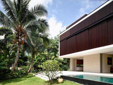 terrasse et piscine - 59BTP House par ONG&ONG - Singapour
