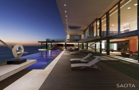 terrasse et piscine - Maison de rêve par Saota, Dakar, Sénégal