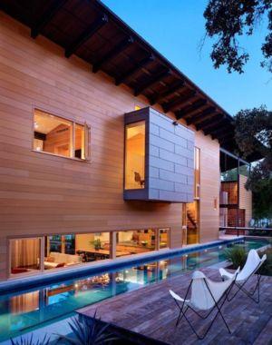 terrasse et piscine - The Hog Pen Creek Residence par LakeFlato - Austin, Usa