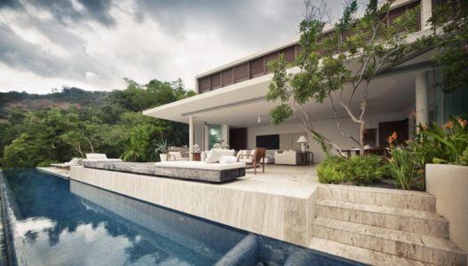 terrasse et piscine - Villas Finestre par CC ARQUITECTOS - Mexique - Photo Rafael Gamo & Yoshihiro Koitani
