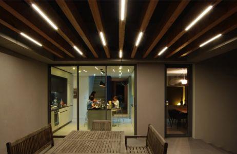 terrasse et séjour - MLEL par Dank Architectes - France