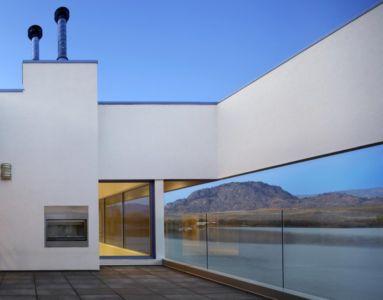 terrasse et vue panoramique - Elenko Residence par CEI Architecture - Osoyoos, Canada