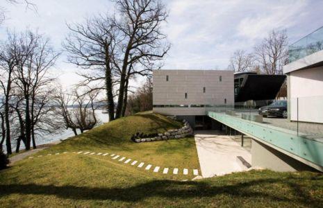 terrasse et vue panoramique - villa afro-européenne par Saota - Genève, Suisse