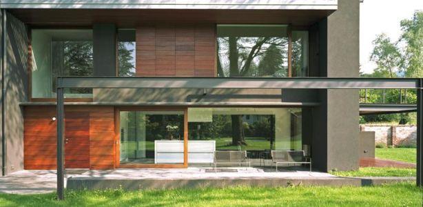 terrasse extension - NM House par GEZA Gri et Zucchi Architetti Associati - Tarcento, Italie