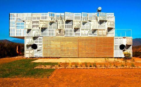 terrasse fermée - Infiniski Manifesto House par james&mau arquitectura - Curacaví, Chili - photo Antonio Corcuera