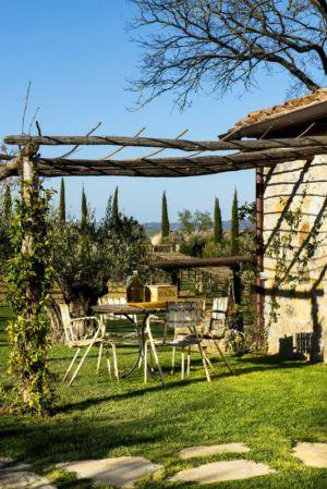 terrasse jardin - mediterranean-residence par Elodie Sire - Toscane, Italie