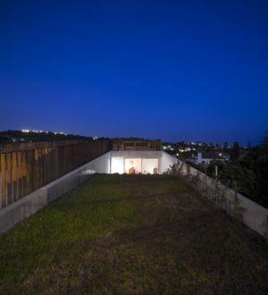 terrasse toiture illuminée - house-caxias par António Costa Lima Arquitectos - Caxias, Portugal