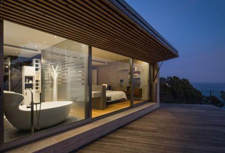 terrasse - maison exclusive par Dosarquitectes - Girona, Espagne