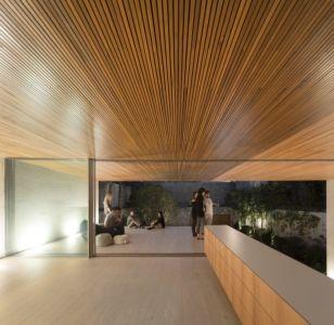 terrasse mezzanine - Tetris House par Studio mk27 - São Paulo, Brésil