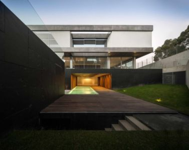 terrasse piscine - BE House par Spaceworkers - Paredes, Espagne