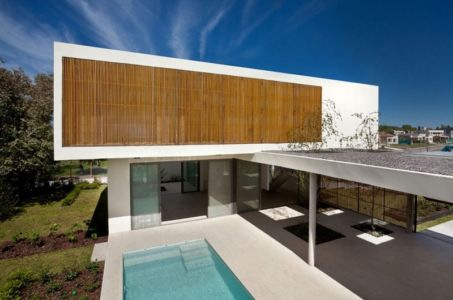 terrasse piscine - Casa Pedro par VDV ARQ - Buenos Aires, Argentine