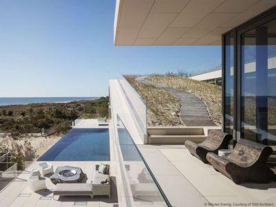 terrasse piscine - Long Island House par 1100 Architect - NY, Usa