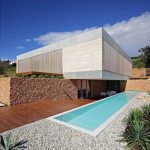 terrasse piscine - Olive House par LOG-URBIS - Pag, Croatie