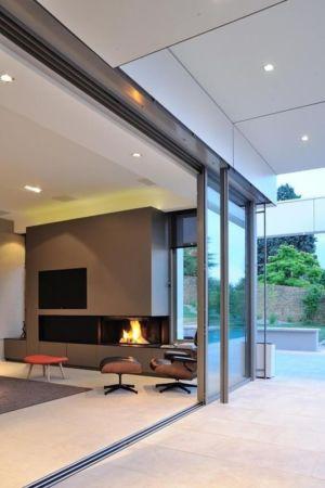 terrasse - salon - Villa Wa par Laurent GUILLAUD - France