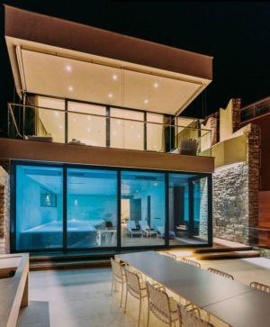 terrasse salon design - House Sperone par Studio Metrocubo - Novigrad, Croatie