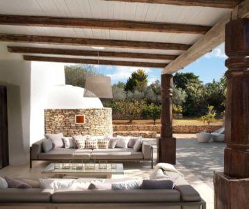 terrasse salon design - Ibiza-House par TG-Studio - île-Ibiza, espagne