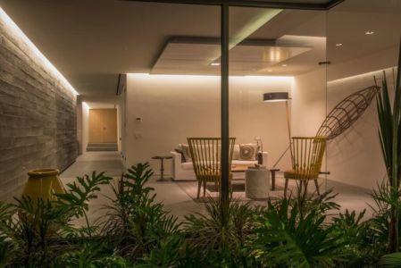 terrasse salon design - luxury residence par Ezequiel Farca - Marina de Puerto Vallarta, Mexique