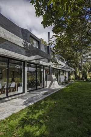 terrasse sud - BO House par Plan B Arquitectos - Colombie