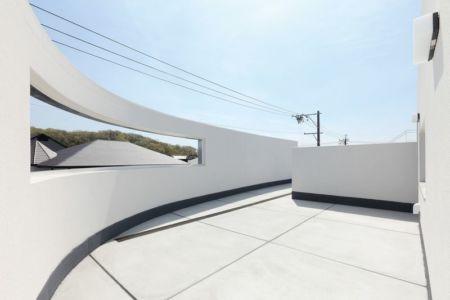 terrasse toit - YAM par ks-architects - Nagoya, Japon
