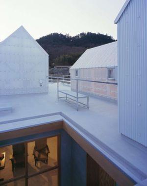 terrasse toit résidence - House-Yamasaki par Tato Architects-You Shimada - Hyogo,Japon