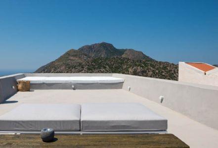 toit terrasse - sterna-residence par Giorgos Tsironis and Greg Haji Joannides - Nisyros, Grèce