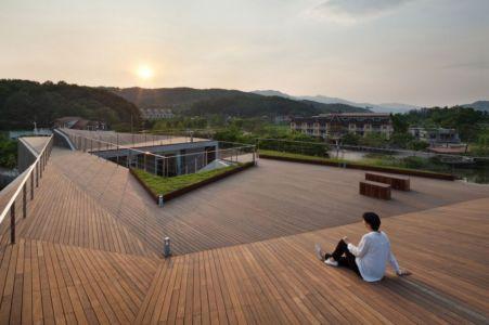 terrasse toiture - Maison Rivendell par IDMM Architects - Corée du sud