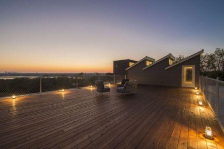terrasse toiture - PV14 House par M Gooden Design - Dallas, Usa