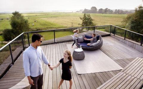 terrasse toiture - W.I.N.D House par UNStudio - Pays-Bas