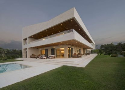 terrasses - S House par Joe Ingea Architects - Liban