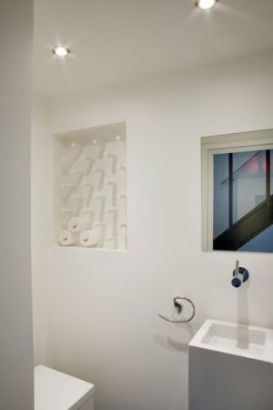 toilettes - Rénovation Maison V - Olivier Chabaud Architecte - France