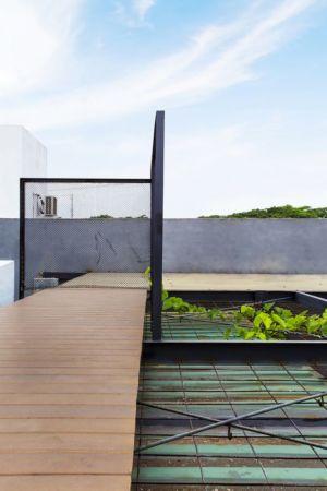 toit végétalisé - Container-Urban par Atelier Riri - Bekasi, Indonesie
