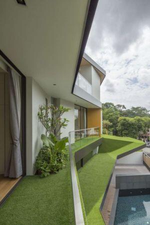 toiture & balcon verte - Trevose-House par Ad-Lab - Singapour
