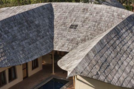 toiture en feuilles - Trika-Villa par Chiangmai Life Construction - Chiang Mai, Thaïlande