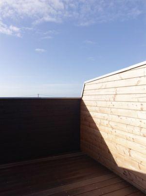 toiture terrasse - Etoile Noire par  Angélique Chedemois Architect - Guérande, France