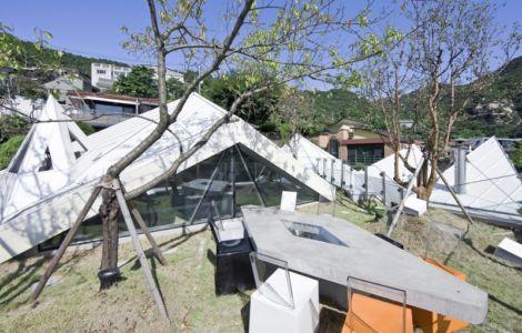 toiture terrasse - HWA HUN par IROJE KHM Architects - Pyeongchang-dong, Corée du Sud