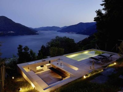toiture terrasse - House in Brissago par Wespi de Meuron Romeo architects - Brissago, Suisse