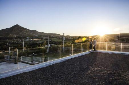 toiture terrasse - La Tomatina House par Plastik Arquitectos - Aguascalientes, Mexique
