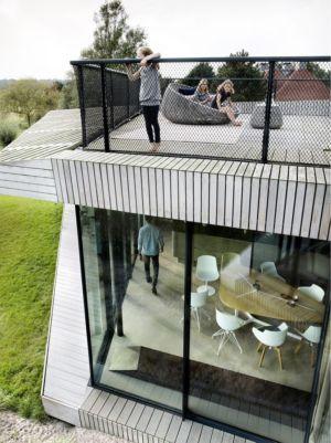 toiture terrasse - W.I.N.D House par UNStudio - Pays-Bas