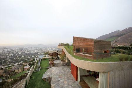 toiture végétalisée - Pachamanca-House par 1-arquitectos - Lima, Pérou