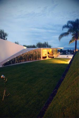 toiture végétalisée - Wa`atal House par Broissin Architects, Mexico City, Mexique